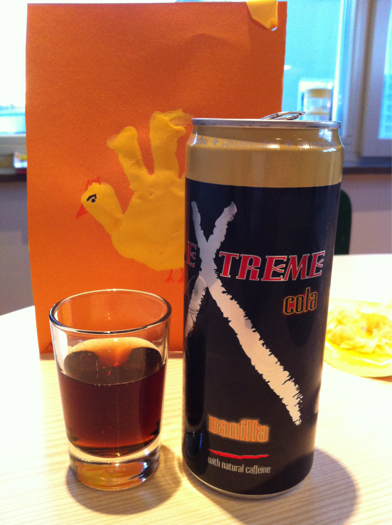 Extreme Cola Vanilla