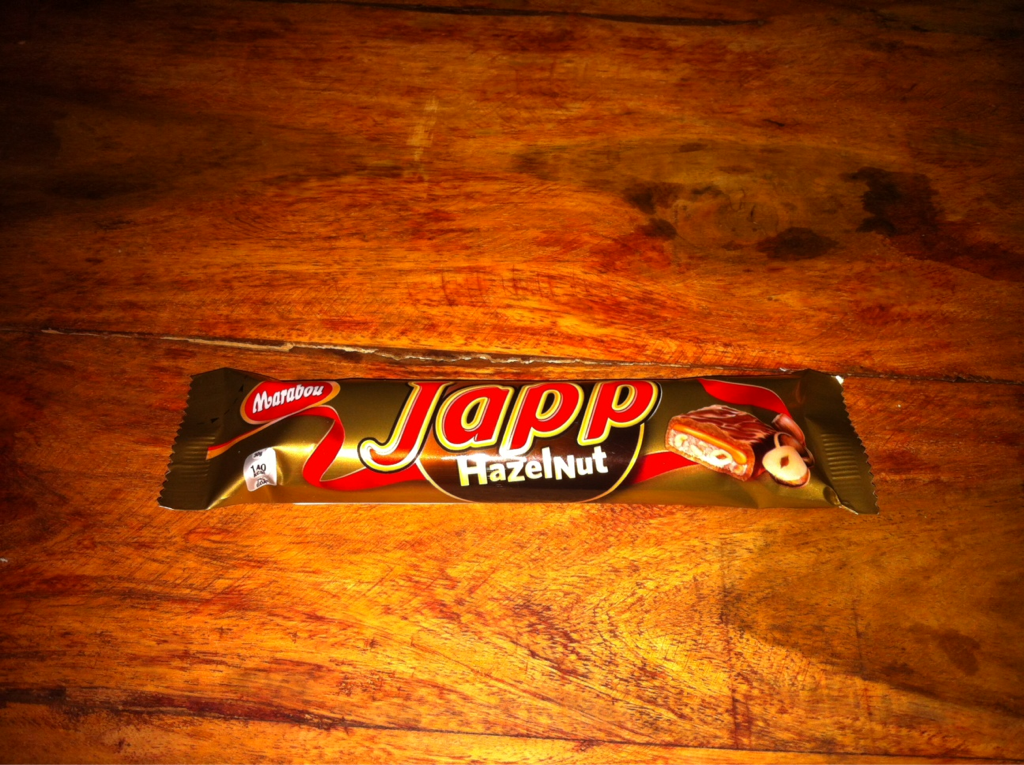 Marabou Japp Hazelnut