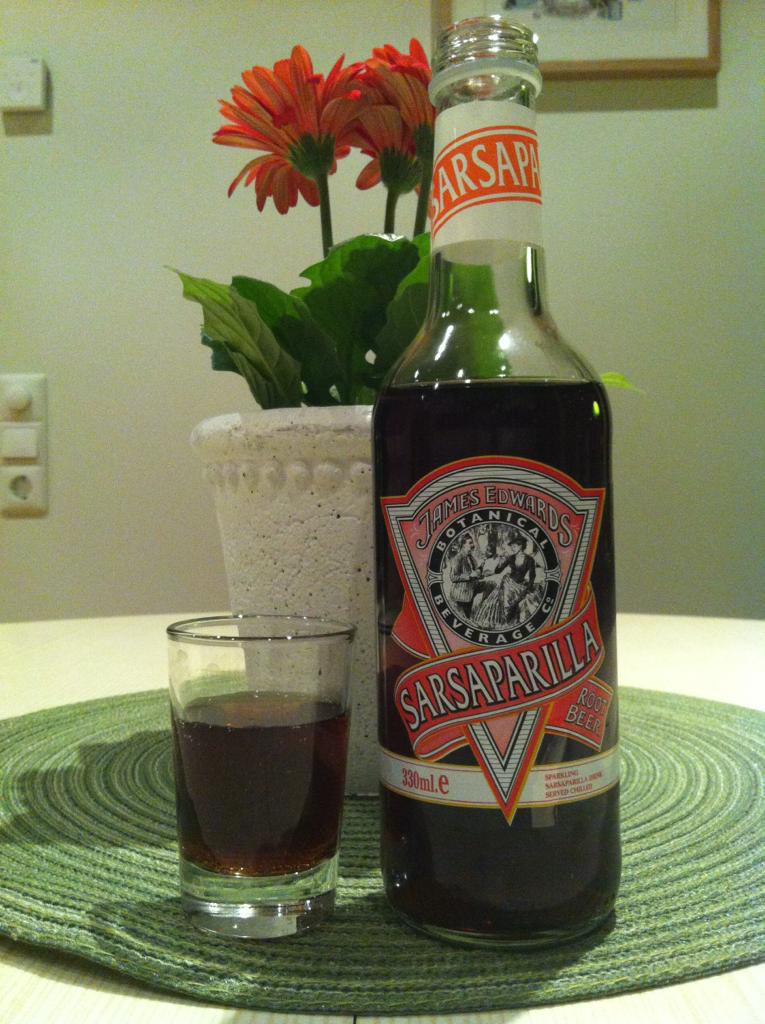 James Edwards Sarsaparilla Root Beer