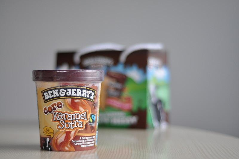 Ben & Jerry's Core Karamel Sutra