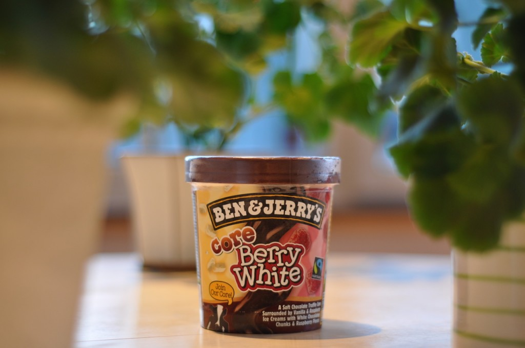 Ben & Jerry's Core Berry White