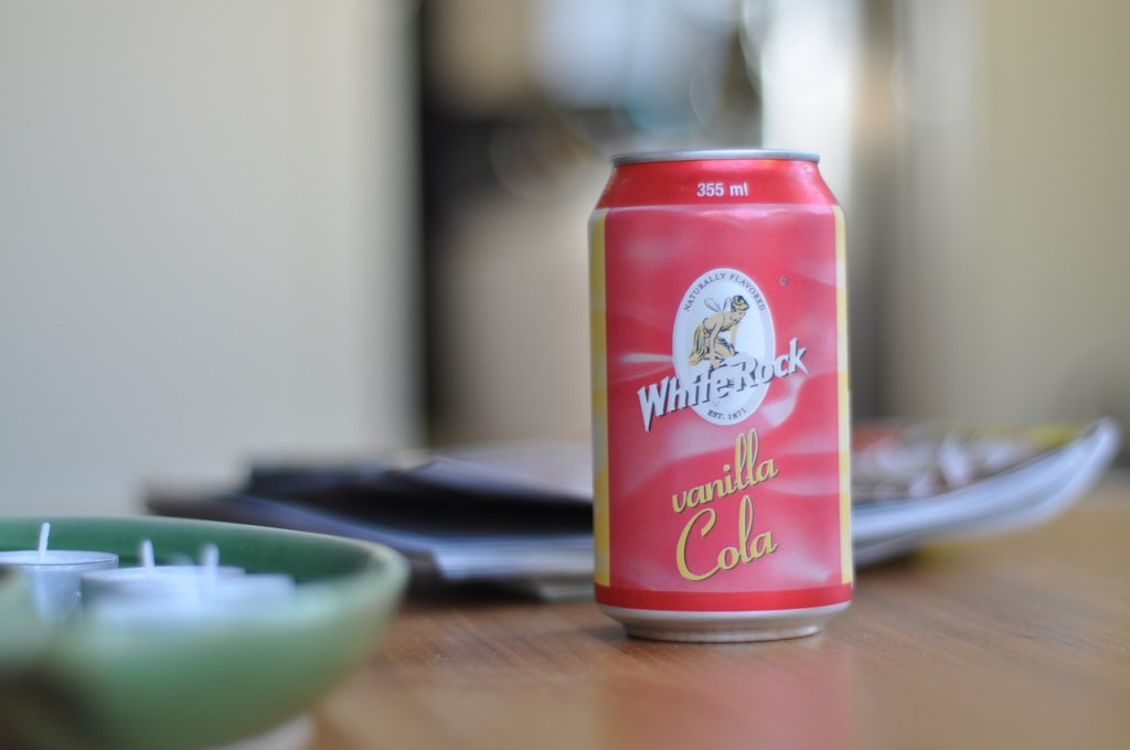 White Rock Vanilla Cola