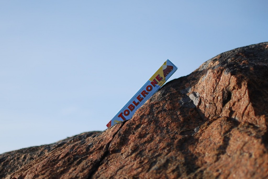 Toblerone Snow Top