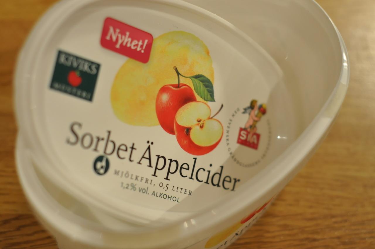 Sia Sorbet Äppelcider