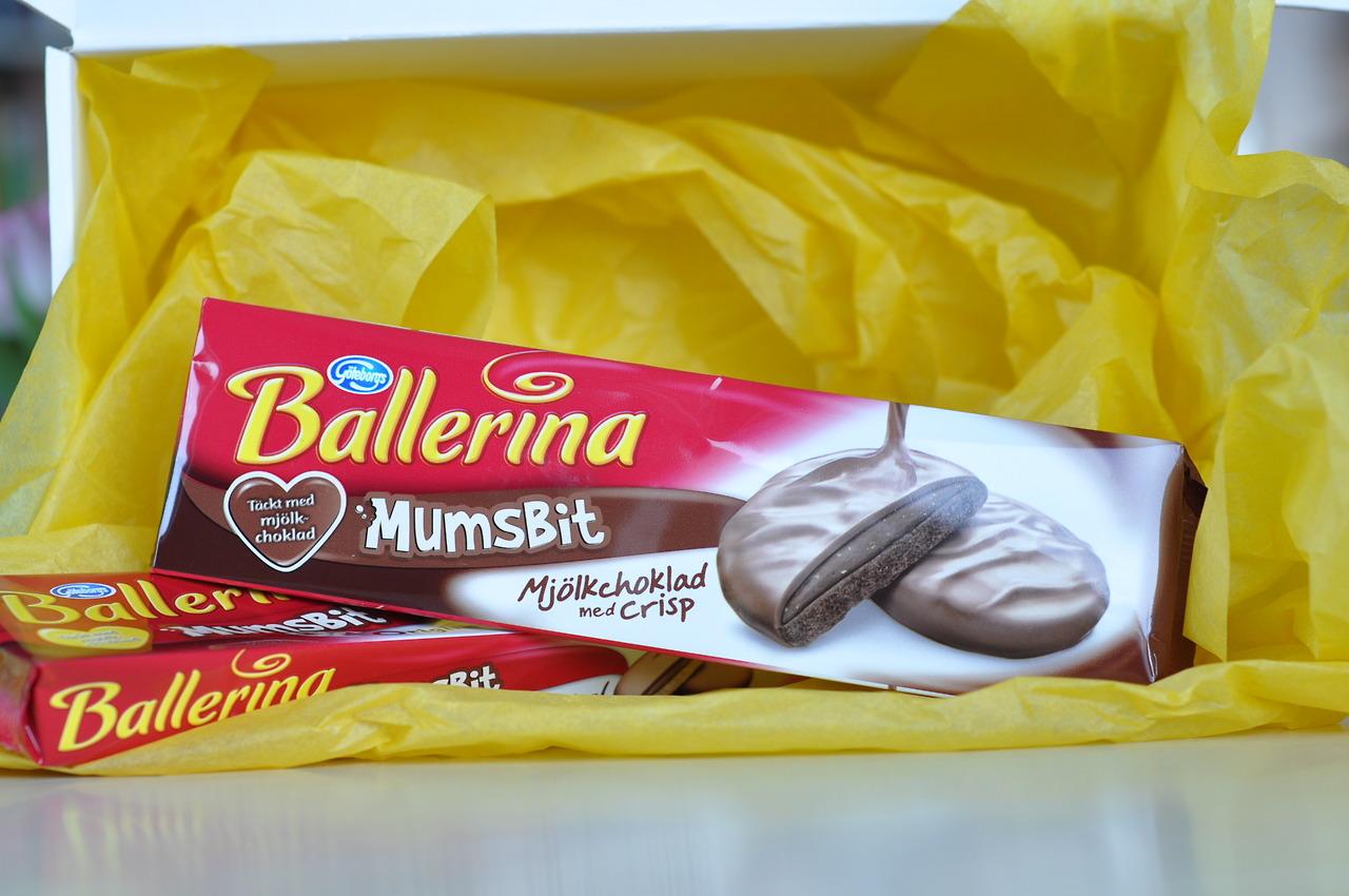 Ballerina Mumsbit Mjölkchoklad med Crisp