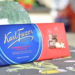 Karl Fazer Strawberry & Vanilla in Milk Chocolate