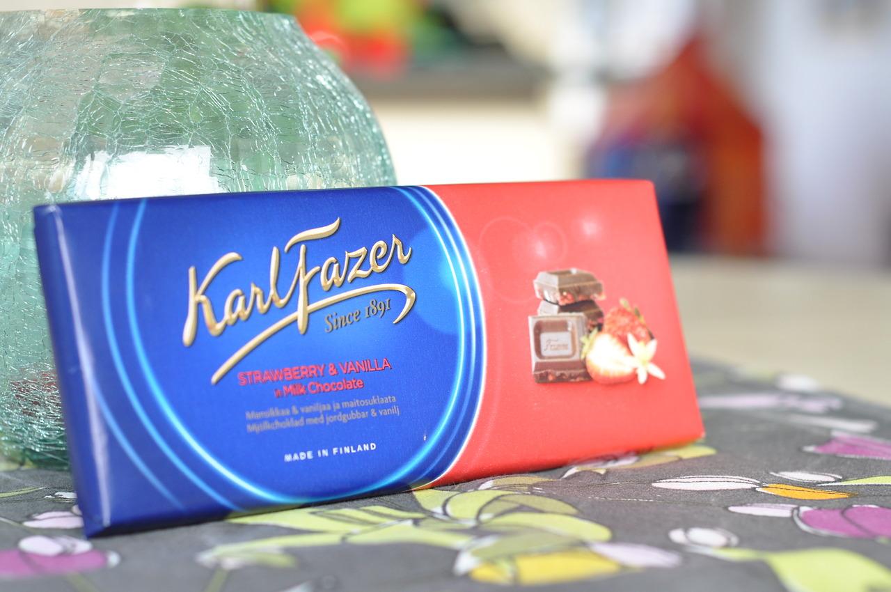 Karl Fazer Strawberry & Vanilla