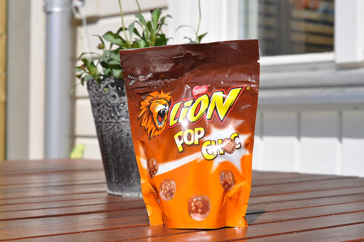 Lion Pop Choc