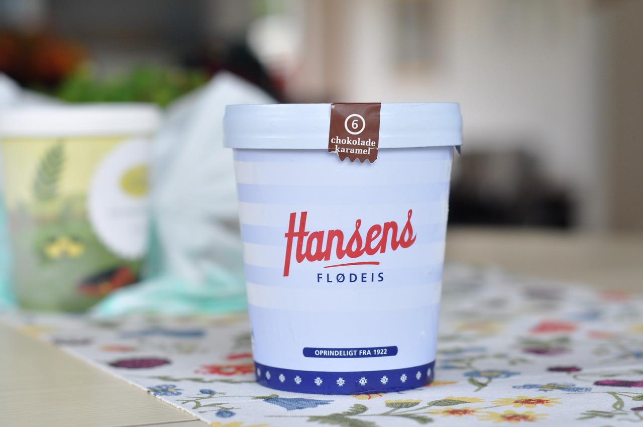 Hansens Flødeis 6 Chokolade & Karamel