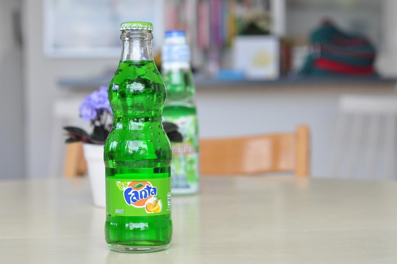 Fanta Green Fruit