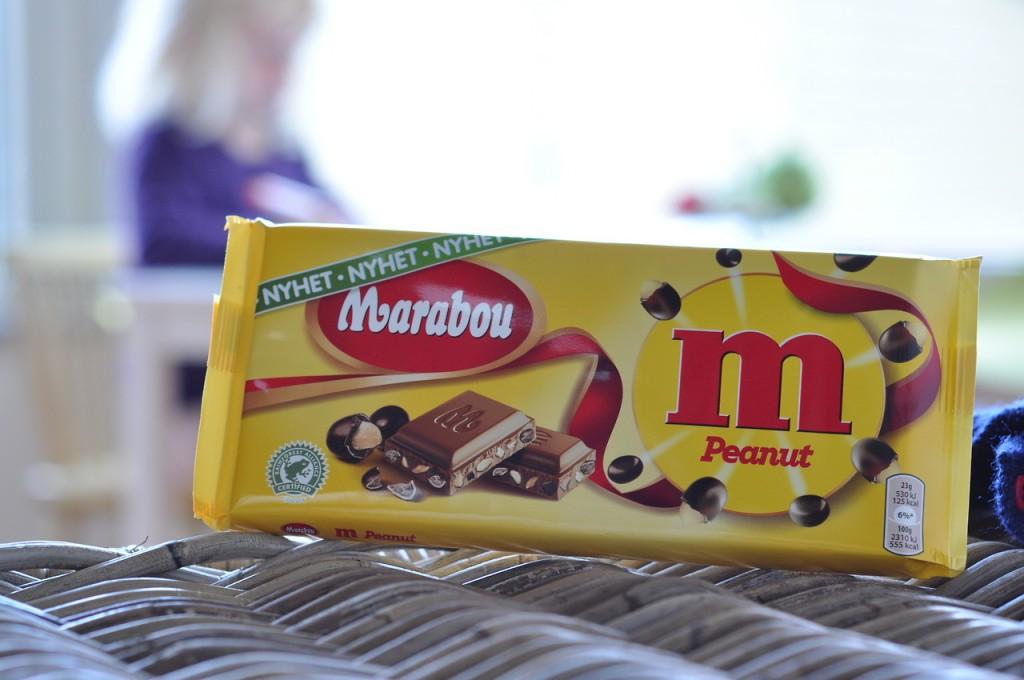 Marabou m Peanut
