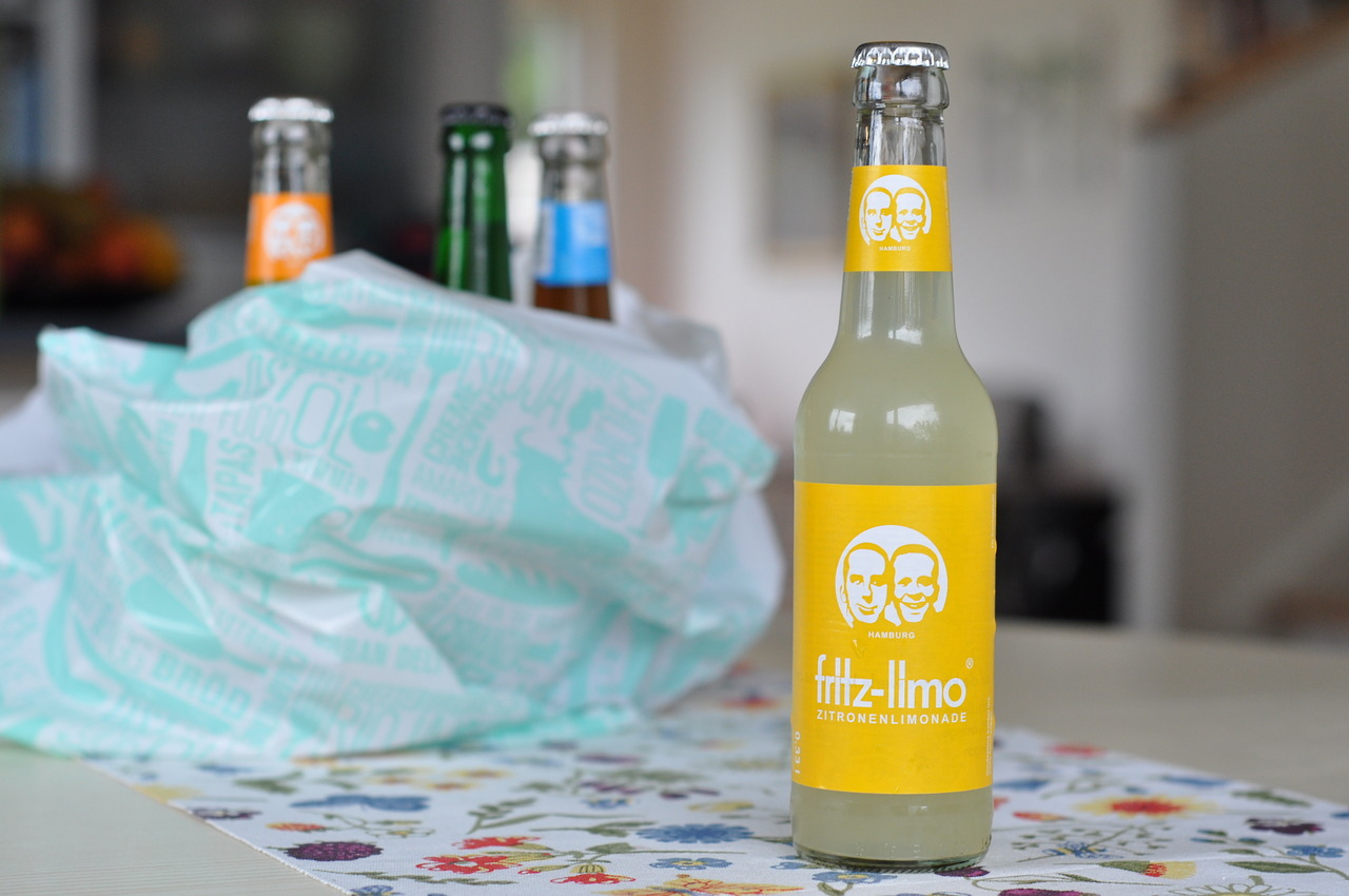 Fritz-Limo Zitronenlimonade