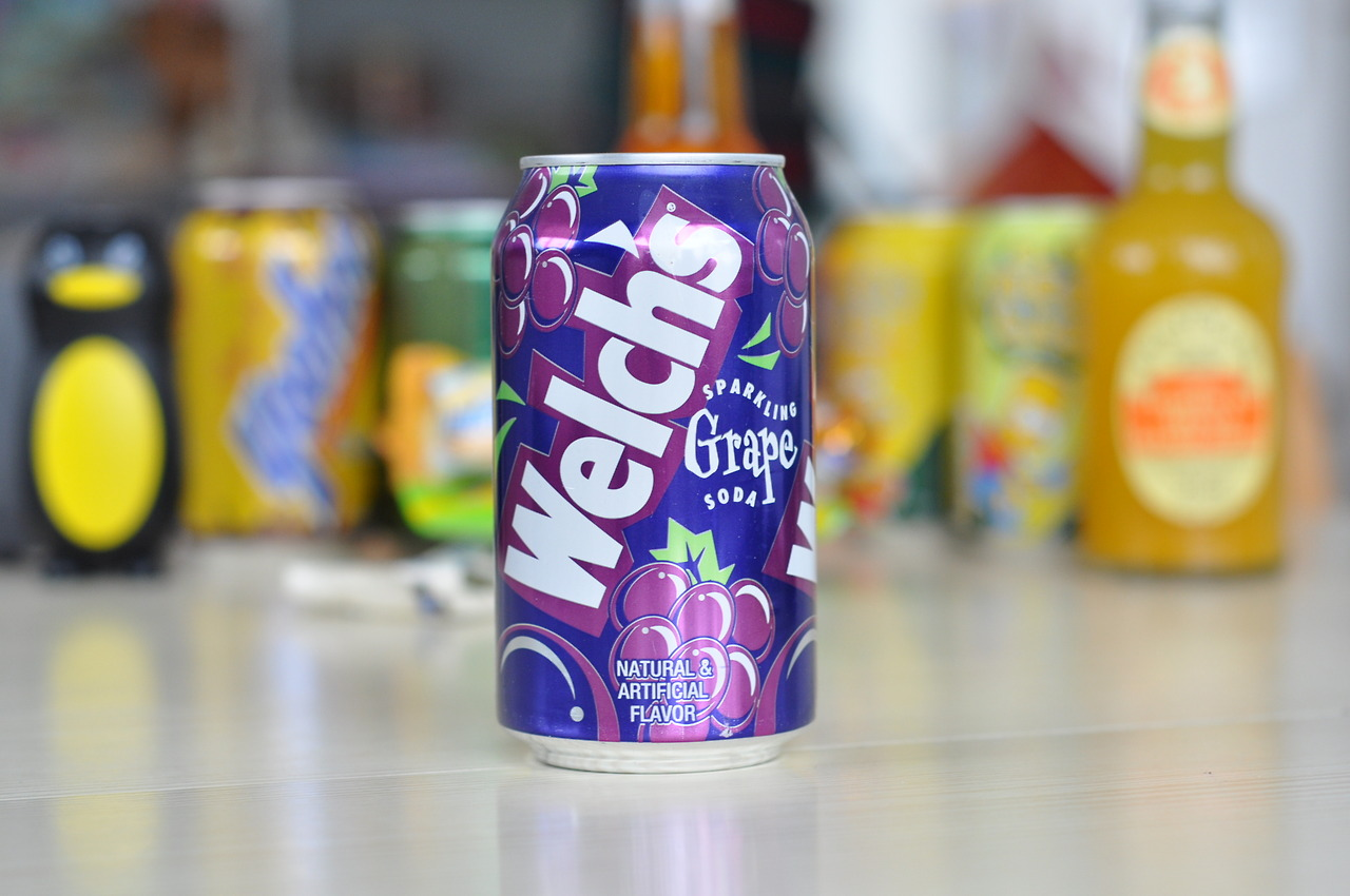 Welch's Sparkling Grape Soda