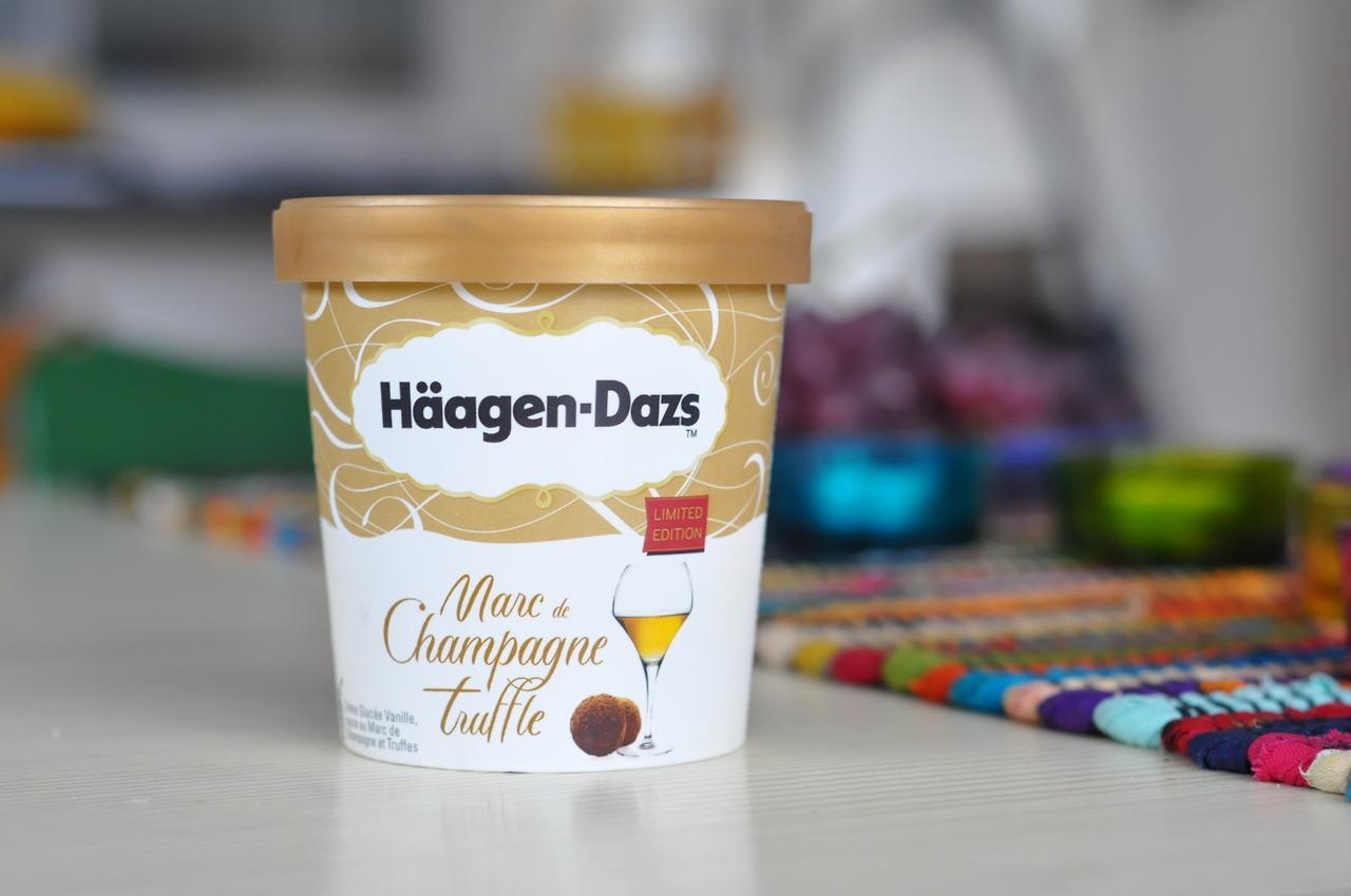 Häagen-Dazs Marc de Champagne Truffle