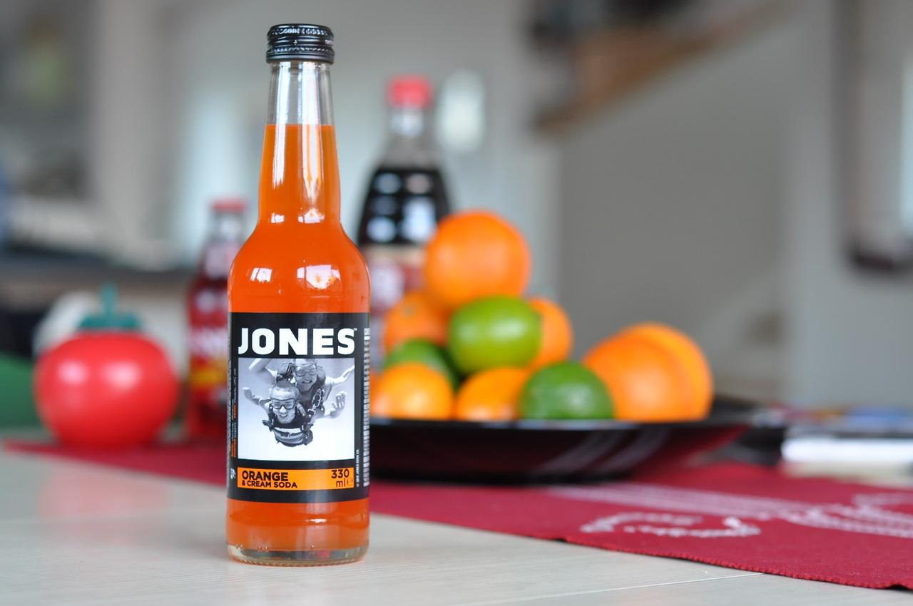 Jones Orange & Cream Soda