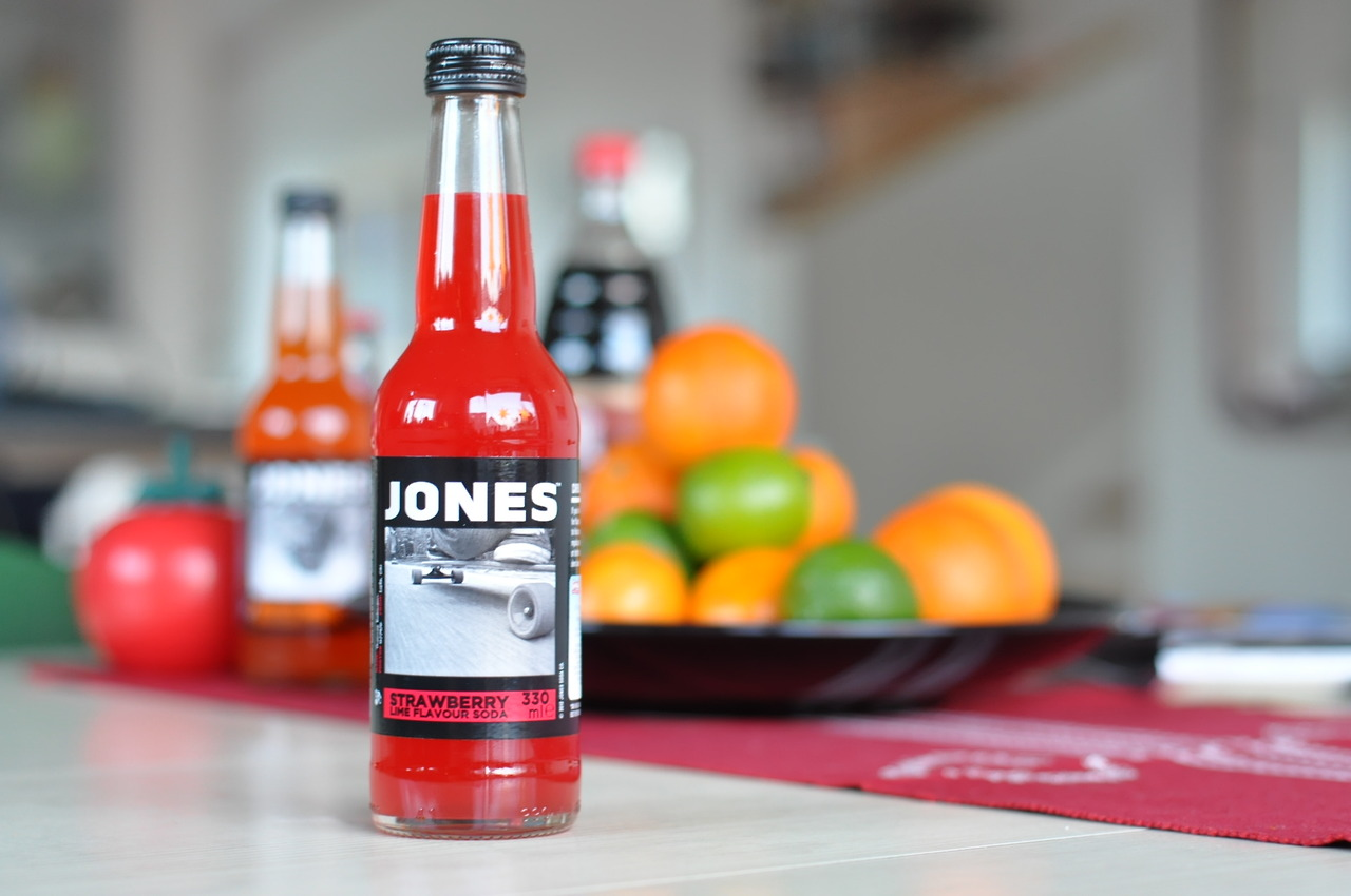 Jones Strawberry Lime Flavour Soda