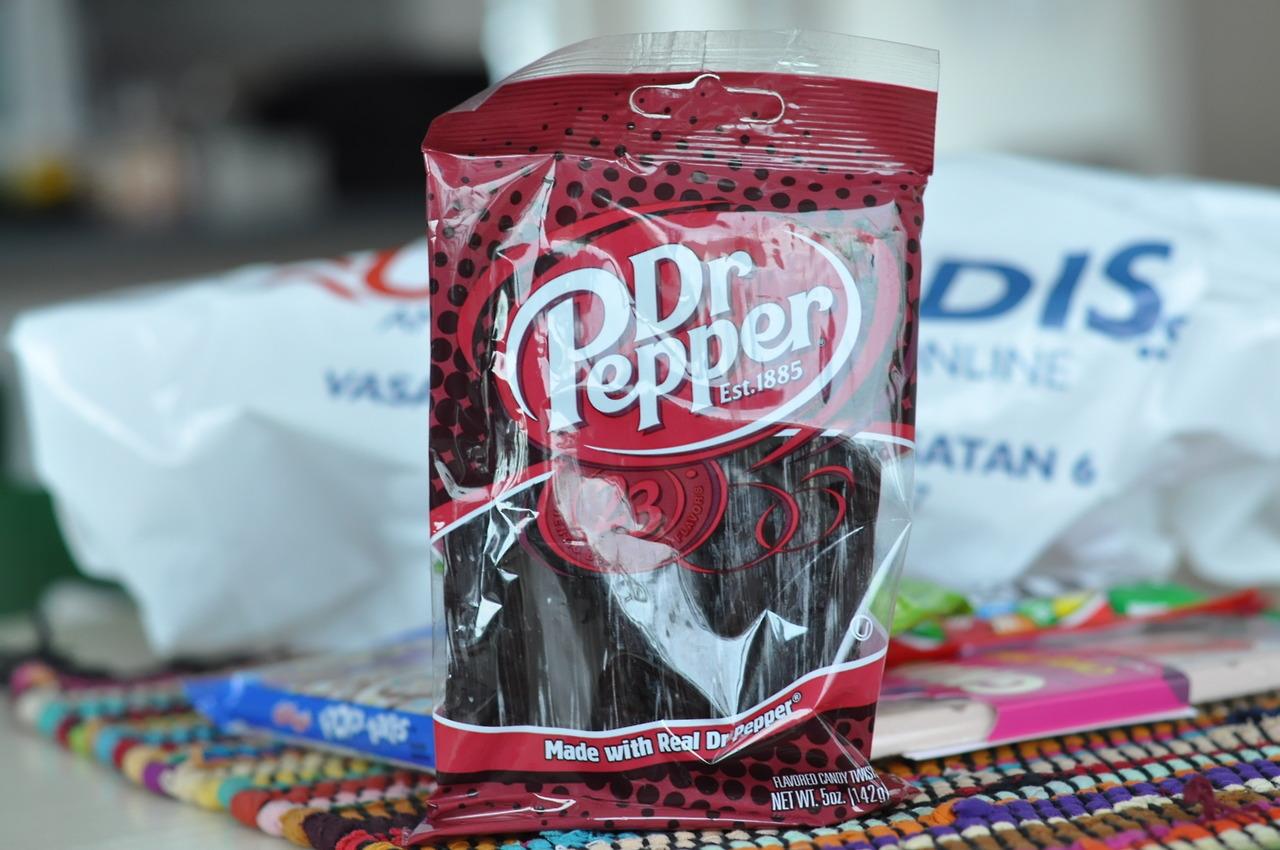 Dr Pepper Twists