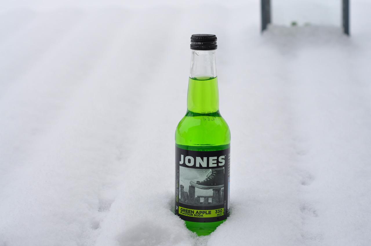 Jones Green Apple Flavour Soda