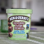 Ben & Jerry's Chocolate Fudge Brownie Low Fat Ice Cream