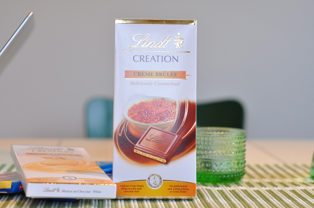 Lindt Creation Créme Brûlée