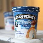 Ben & Jerry's Greek Style Frozen Yogurt Vanilla Honey Caramel