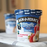 Ben & Jerry's Greek Style Frozen Yogurt Strawberry Shortcake