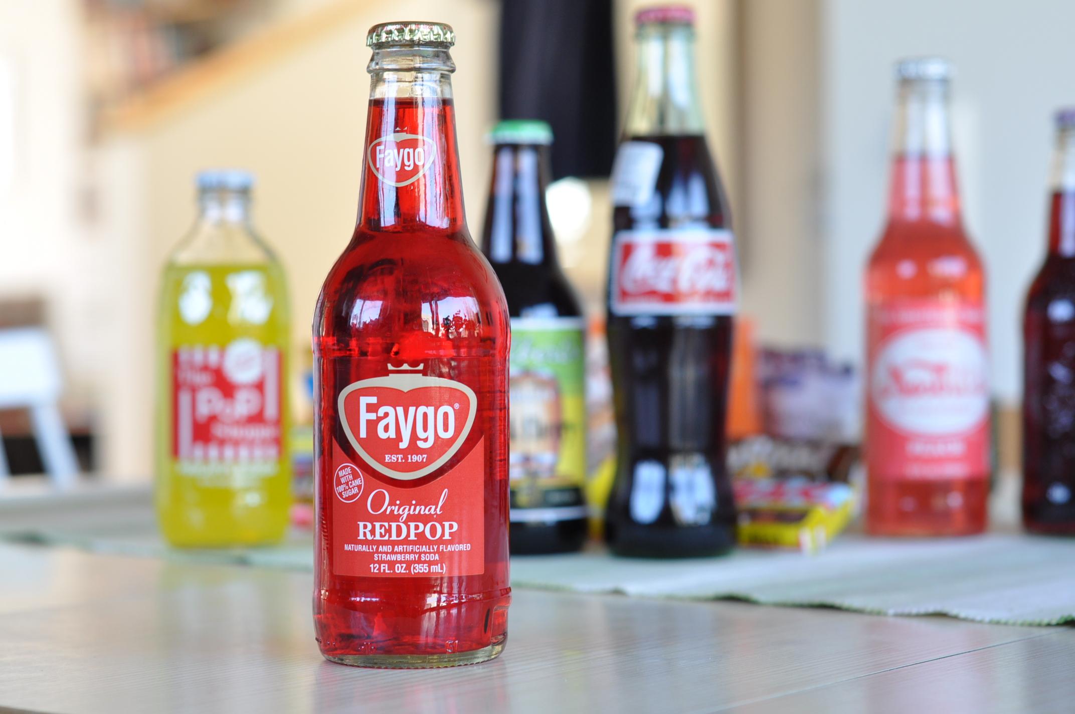 Faygo Redpop Strawberry
