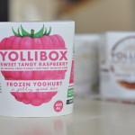 Yollibox Sweet Tangy Raspberry Frozen Yoghurt