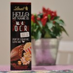 Lindt Hello My Name Is Sweet Popcorn
