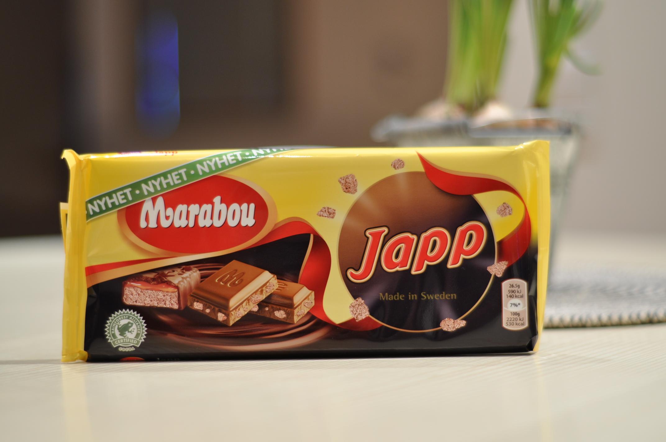 ica marabou choklad sorter