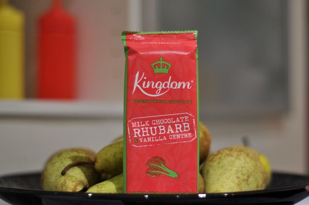 Kingdom Chocolate Rhubarb & Vanilla