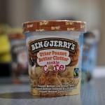 Ben & Jerry's Utter Peanut Butter Clutter Cookie Core
