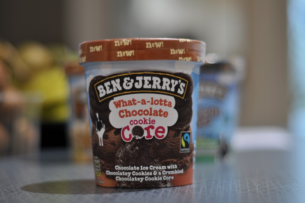 Ben & Jerry's What-a-lotta Chocolate Cookie Core