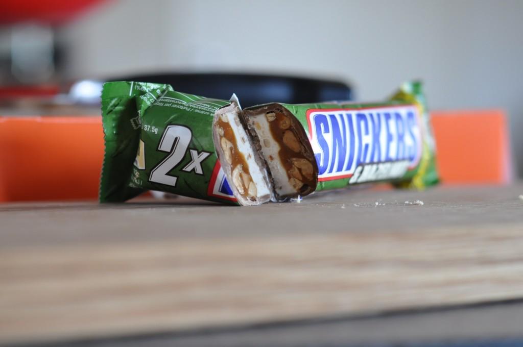Snickers Hazelnut inre