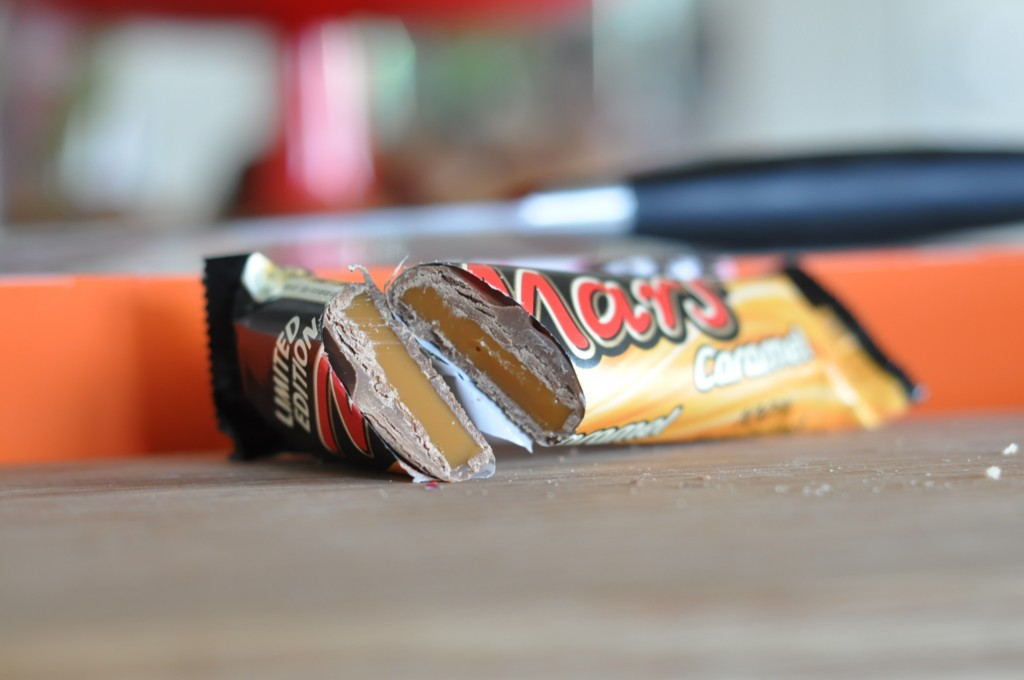 Mars Caramel insida