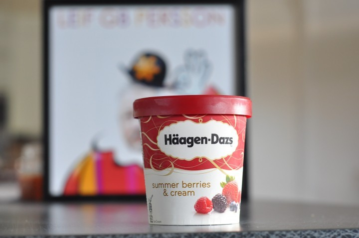 Häagen-Dazs Summer Berries & Cream - Sockerbiten