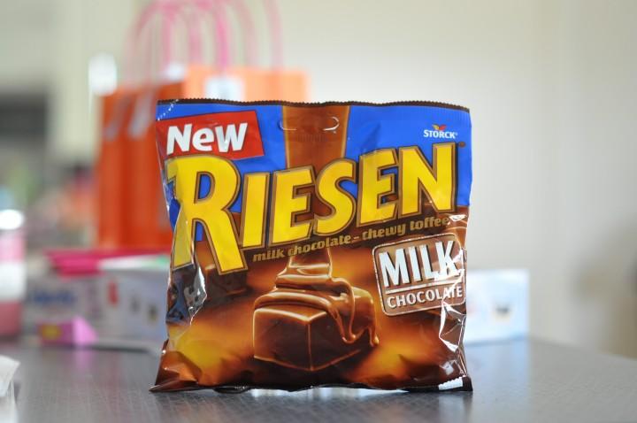 riesen choklad innehåll
