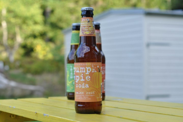 Maine Root Pumpkin Pie Soda