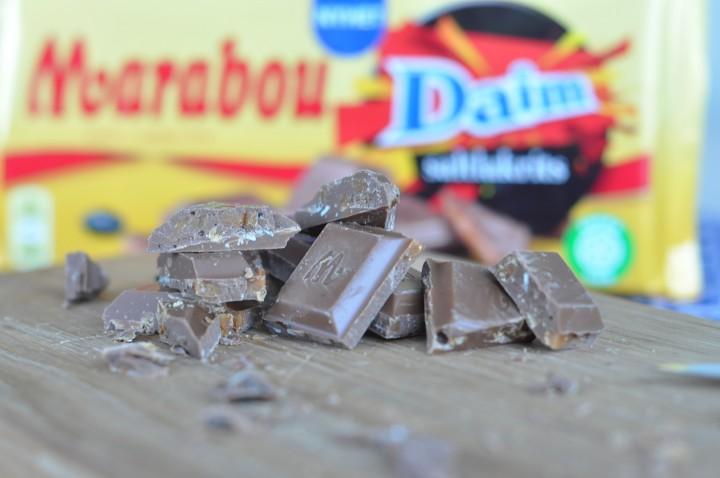Chokladkaka uppskuren