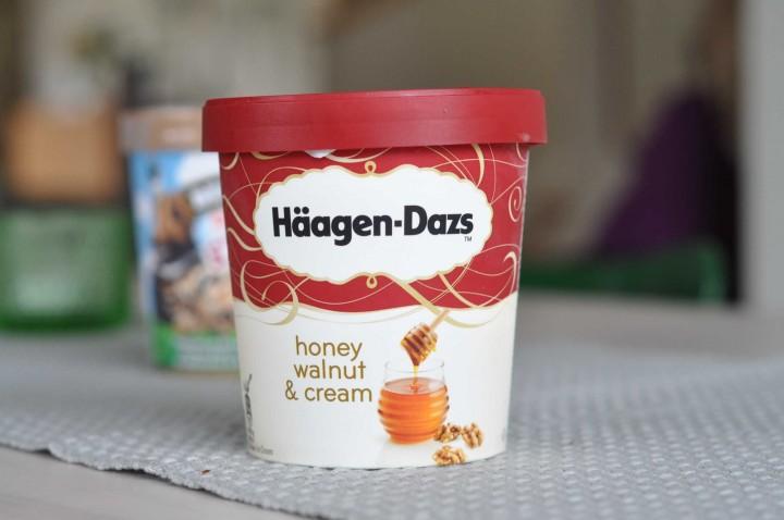 Häagen-Dazs Honey Walnut & Cream