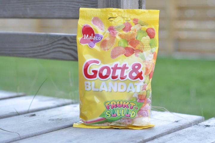 Gott & Blandat Fruktsallad Sockerbiten