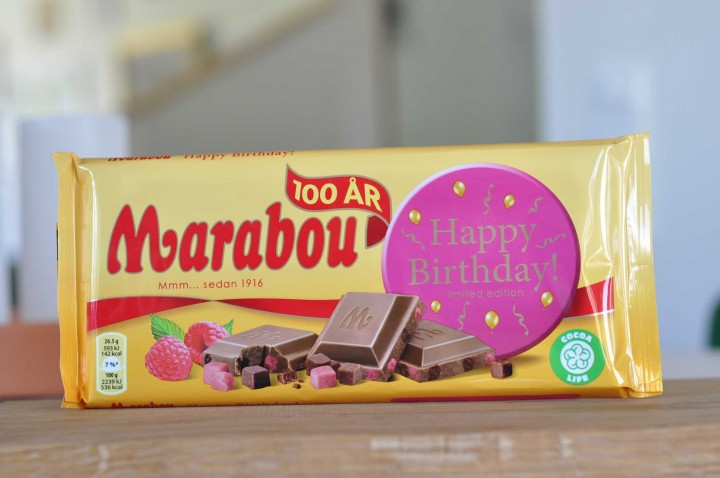 Marabou Happy Birthday!