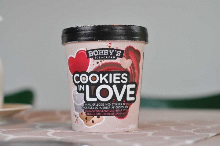 Bobby's Ice-Cream Cookies in Love