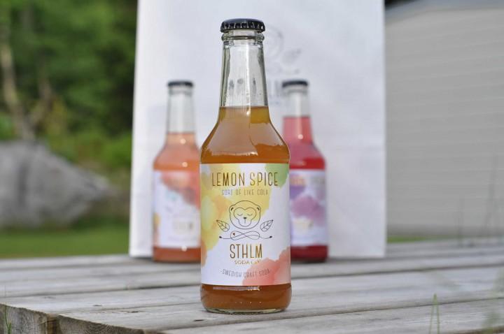 Sthlm Soda Co Lemon Spice