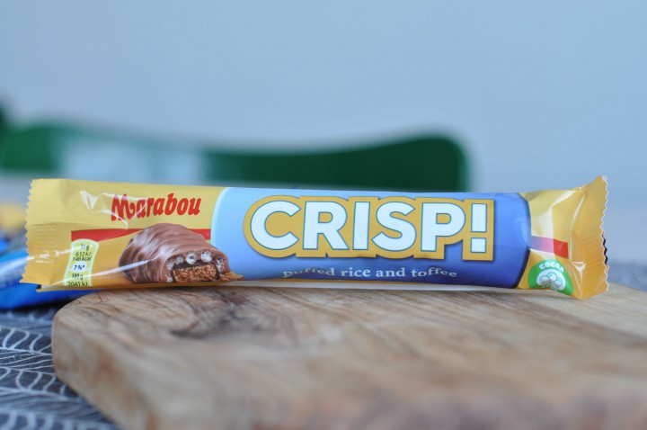 Marabou Crisp! Puffed Rice and Toffee