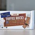 Fazer Travel London Toffee Rocks Salty Cookie