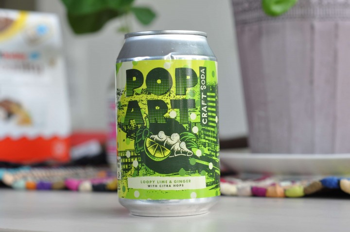 Pop Art Craft Soda Loopy Lime & Ginger