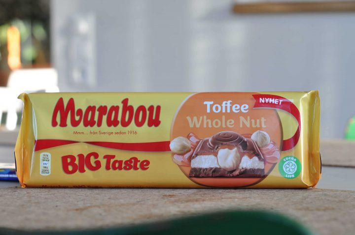 Marabou Big Taste Toffee Whole Nut