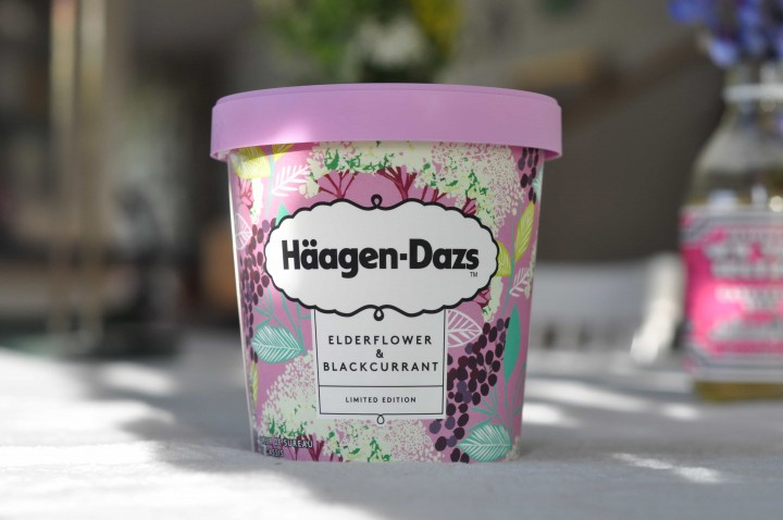Häagen-Dazs Elderflower & Blackcurrant