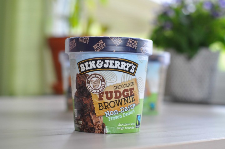 Ben & Jerry's Non-Dairy Chocolate Fudge Brownie